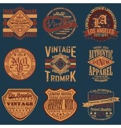 Teeshirt print design vector image