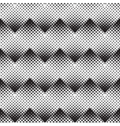 Halftone background seamless pattern vector image vector image