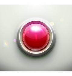emergency button vector image vector image