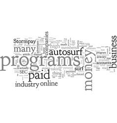 Are paid autosurf programs dead vector