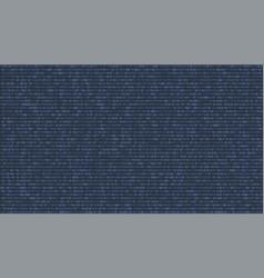digital binary computer code technology vector image