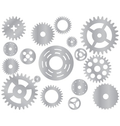 Machine Gear Wheel Cogwheel vector image