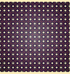 seamless geometric pattern on purple background vector image