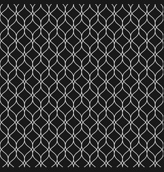 seamless pattern thin vertical wavy lines vector image