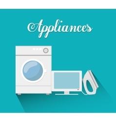 Technology home appliances vector
