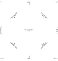 toy drone pattern seamless vector image