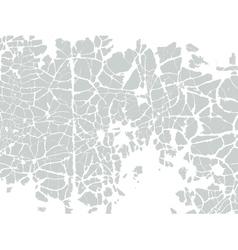 Vintage cracked background vector image