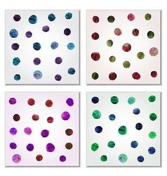 Set of drops vector image