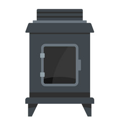 Old oven icon cartoon style vector