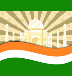 26 january republic day india celebration poster vector image