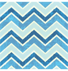 Chevron pattern in blue vector