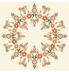 Circular islamic background five vector