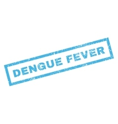 Dengue Fever Rubber Stamp vector image