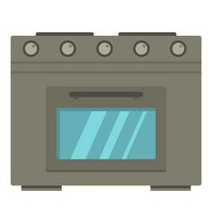 gas oen icon cartoon style vector image
