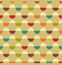 geometric colorful background design template vector image
