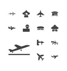 Jet icons vector