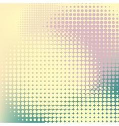 Pastel halftones vector