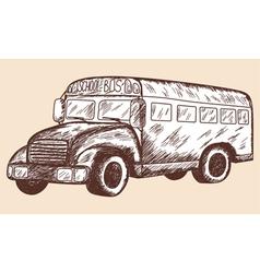 School props Schoolbus vector