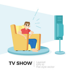 tv show vector image