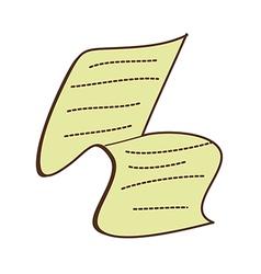 A paper vector