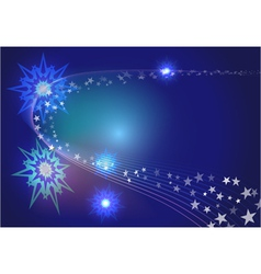 abstract stars vector image