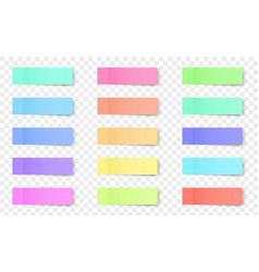 creative of sticky notes vector image