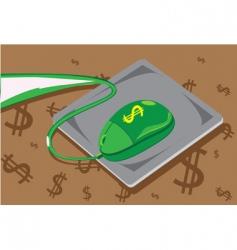 online business vector image