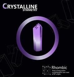Rhombic 01 vector