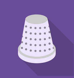 Thimble icon of for web and vector
