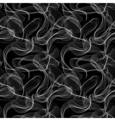 Smoke seamless pattern vector image