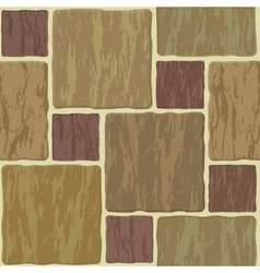seamless stonewall tile vector image vector image