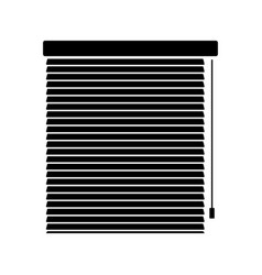blinds icon interiors vector image vector image