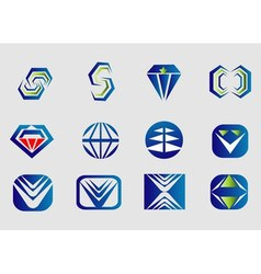Abstract logo Designs vector