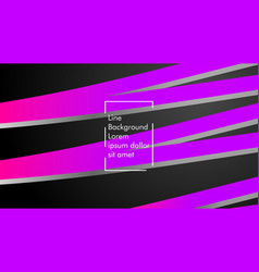 abstract wave background with purple and pink vector image