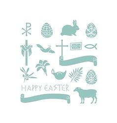 Easter Symbols vector