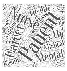 Get The Right Nusing Careers In Mental Health Word vector