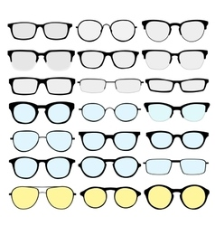 Glasses 2 vector image