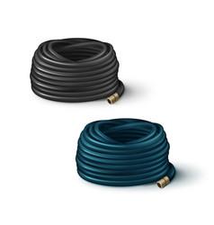 hoses for garden vector image
