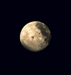 realistic planet Moon vector image