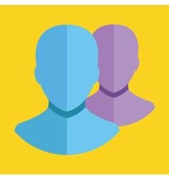 Choose Profile Icon vector image vector image