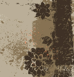 The abstract traced background vector image