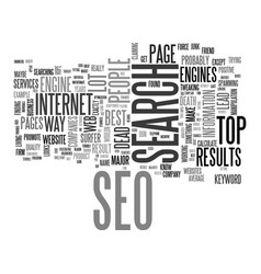 Is seo dead text background word cloud concept vector