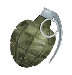 Military grenade vector