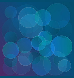 abstract circles background template for design vector image