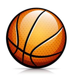 basketball ball isolated design vector image