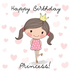 Happy Birthday Princess Dress Vector Images Over 200