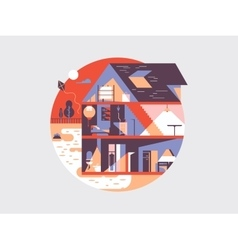 House planning vector image vector image