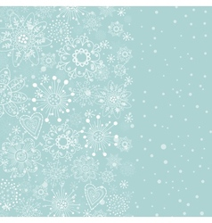 Light blue vertical cristmas background vector