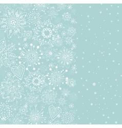 Light blue vertical cristmas background vector