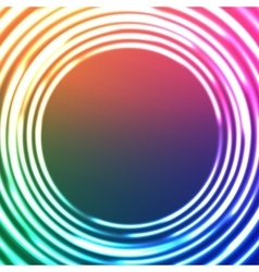 Light Circles Abstract Background Astral vector image